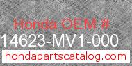 Honda 14623-MV1-000 genuine part number image