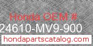 Honda 24610-MV9-900 genuine part number image