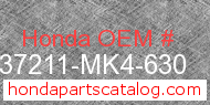 Honda 37211-MK4-630 genuine part number image