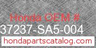Honda 37237-SA5-004 genuine part number image