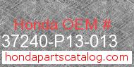 Honda 37240-P13-013 genuine part number image