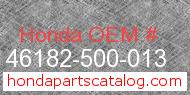 Honda 46182-500-013 genuine part number image