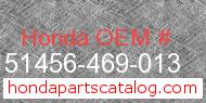 Honda 51456-469-013 genuine part number image
