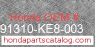 Honda 91310-KE8-003 genuine part number image