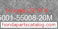 Honda 95001-55008-20M genuine part number image